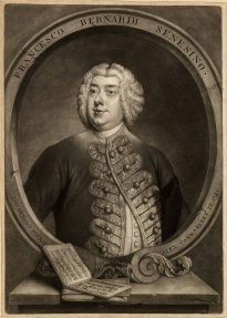 Francesco Bernardi Senesino, one of Handel's Alto Castrati